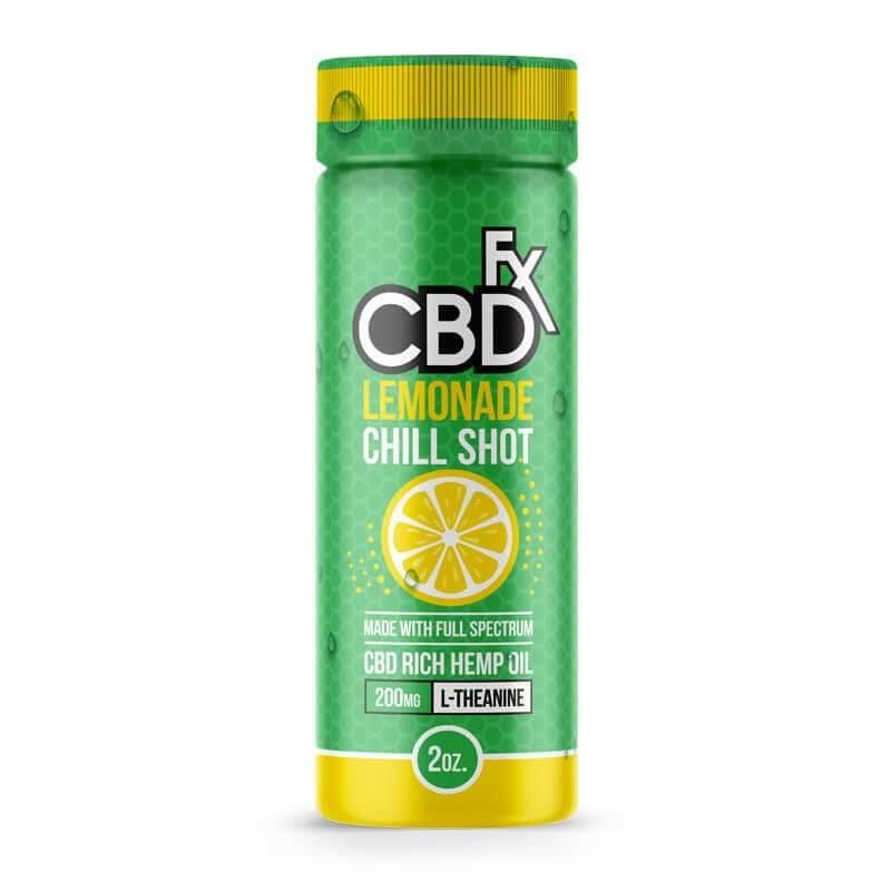 CBD Chill Shot Drink Lemonade